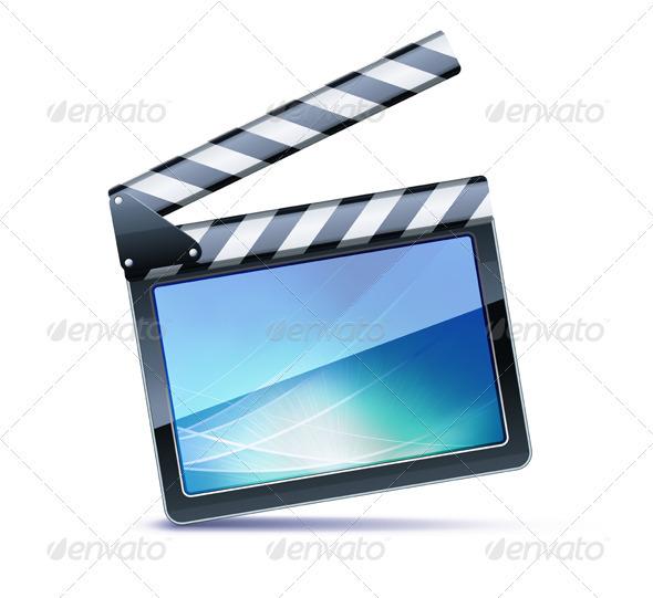 GraphicRiver Movie Clapper Board 3850972