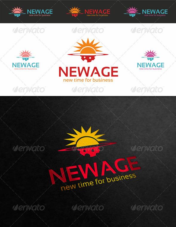 GraphicRiver New Age Logo 3739990