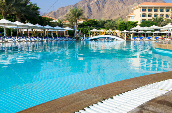 PhotoDune swimming pool 3851112