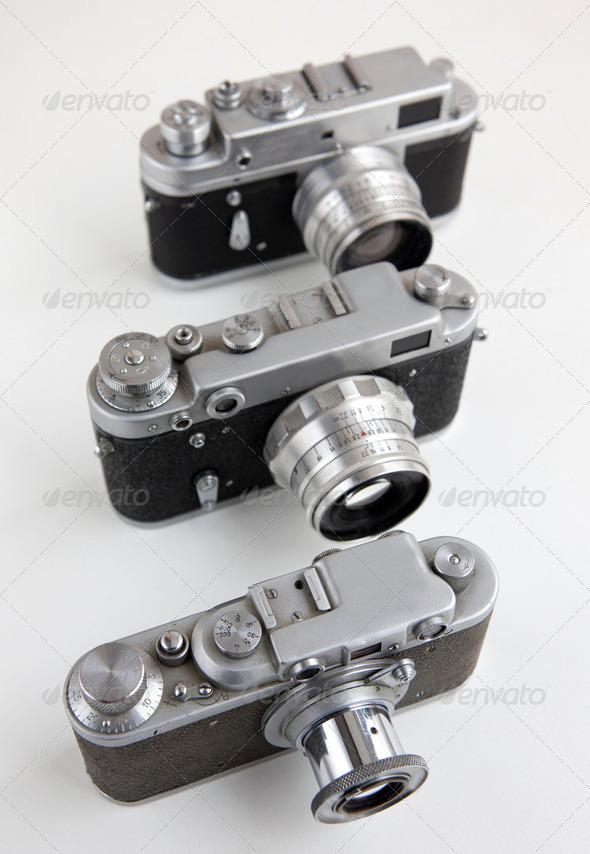 PhotoDune Old cameras 3851254