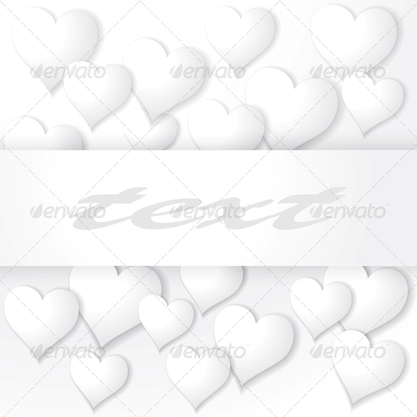 GraphicRiver Background with Hearts 3851138