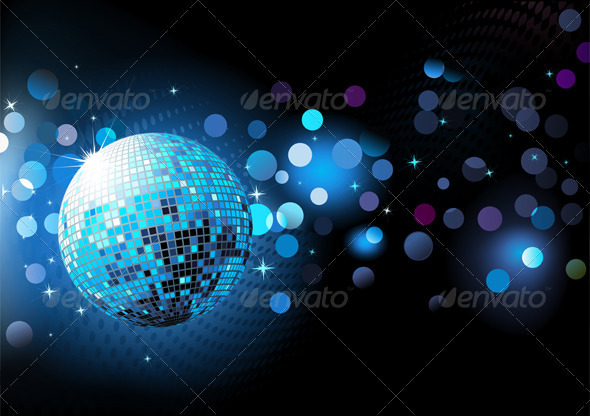 GraphicRiver Abstract Party Background 3851226