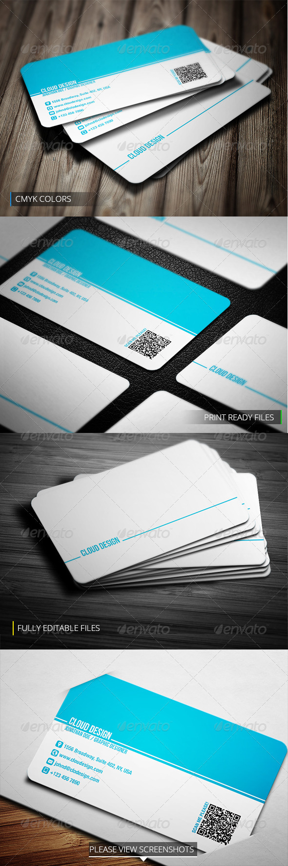 GraphicRiver Corporate Business Card 3851240