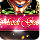 Mardi Gras Carnival Party Flyer 2 - GraphicRiver Item for Sale