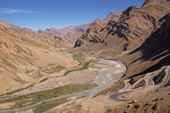 PhotoDune Road across Ladakh 3854152