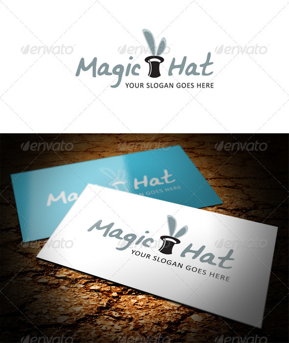 GraphicRiver Magic Hat Logo 3746222