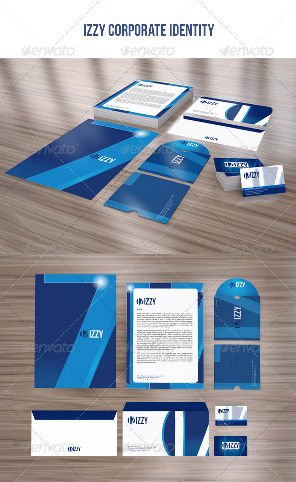 GraphicRiver IZZY Corporate Identity Package 3853103