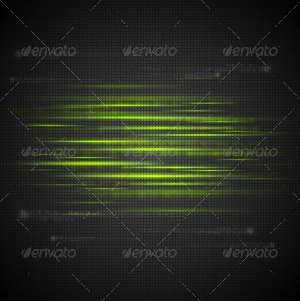 GraphicRiver Shiny Green Abstract Stripes 3853732