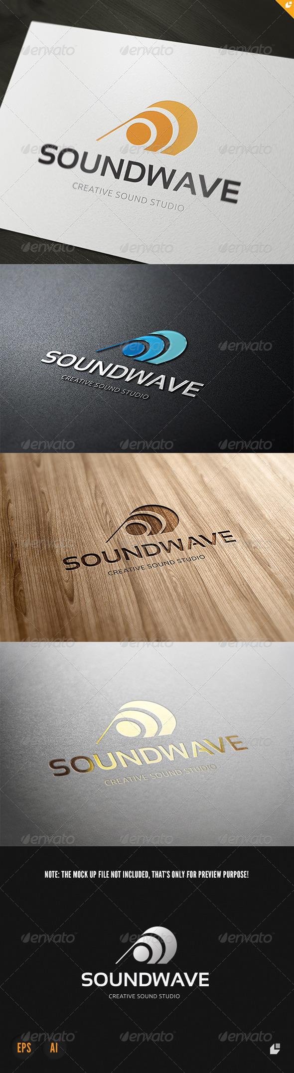 GraphicRiver Sound Wave Logo 3853783