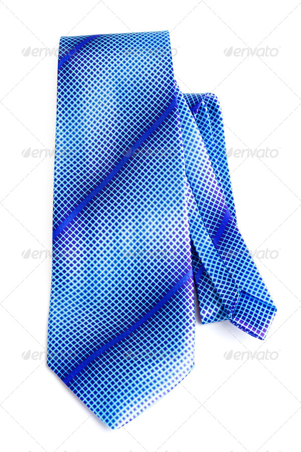 PhotoDune Blue Necktie 3854075
