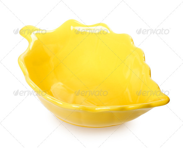 PhotoDune Leaf-Shaped Bowl 3854082