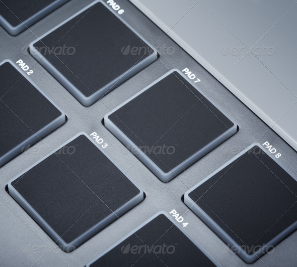 PhotoDune Midi Keyboard Pads 3854096