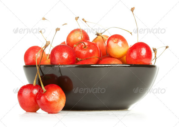 PhotoDune Bowl Of Cherries 3854103
