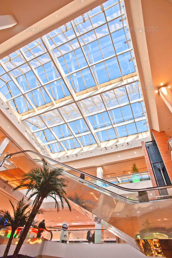 PhotoDune skylight in a commercial building 3854133