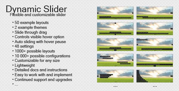 CodeCanyon Dynamic Slider 3854394