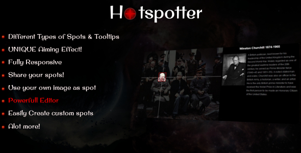 Hotspotter - Hotspot Maker jQuery Plugin - CodeCanyon Item for Sale