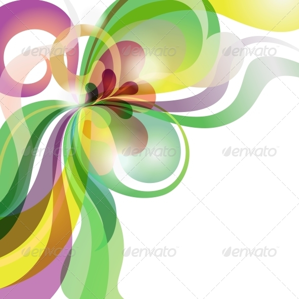 GraphicRiver Abstract Love Theme Colorful Festive Background 3854857