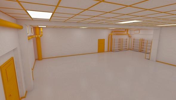3DOcean Facility Interior 3854865