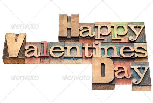 Happy Valentines Day - Stock Photo - Images