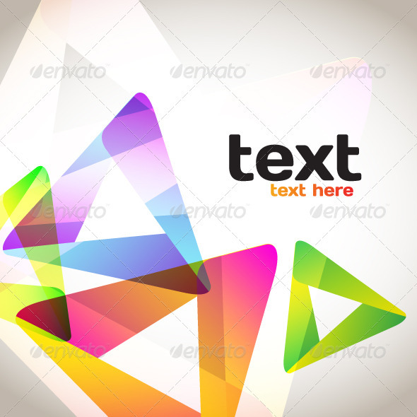 GraphicRiver Colorful Abstract Triangles 3856070