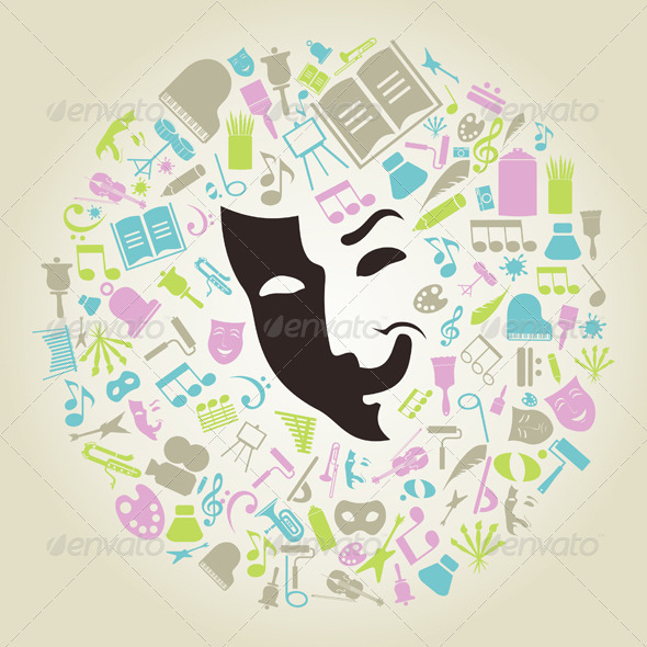 GraphicRiver Art Mask 3856436