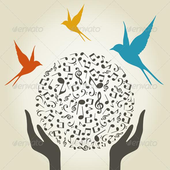 GraphicRiver Music hand5 3856650