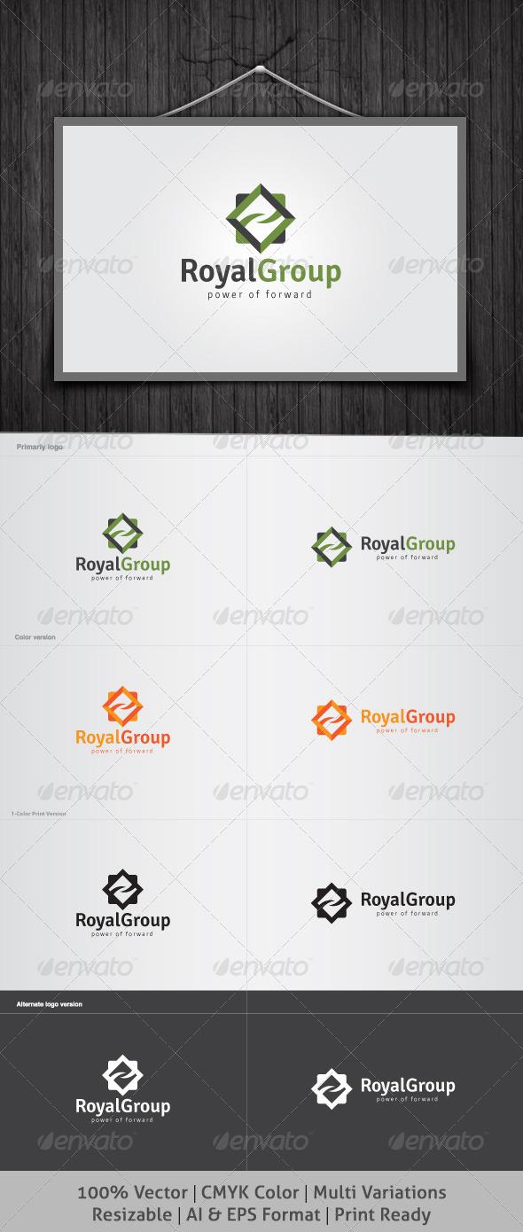 GraphicRiver Royal Group Logo 3763577