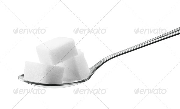 sugar cubes - Stock Photo - Images