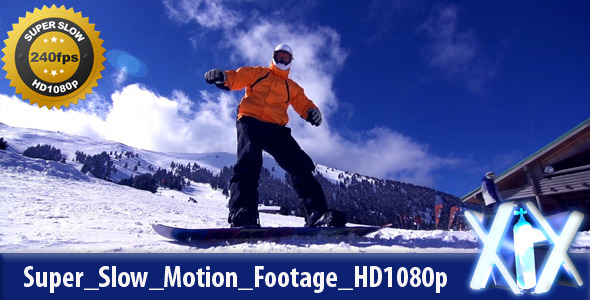 Snowboarding 240fps