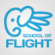 School Of Flight Logo - GraphicRiver Item for Sale