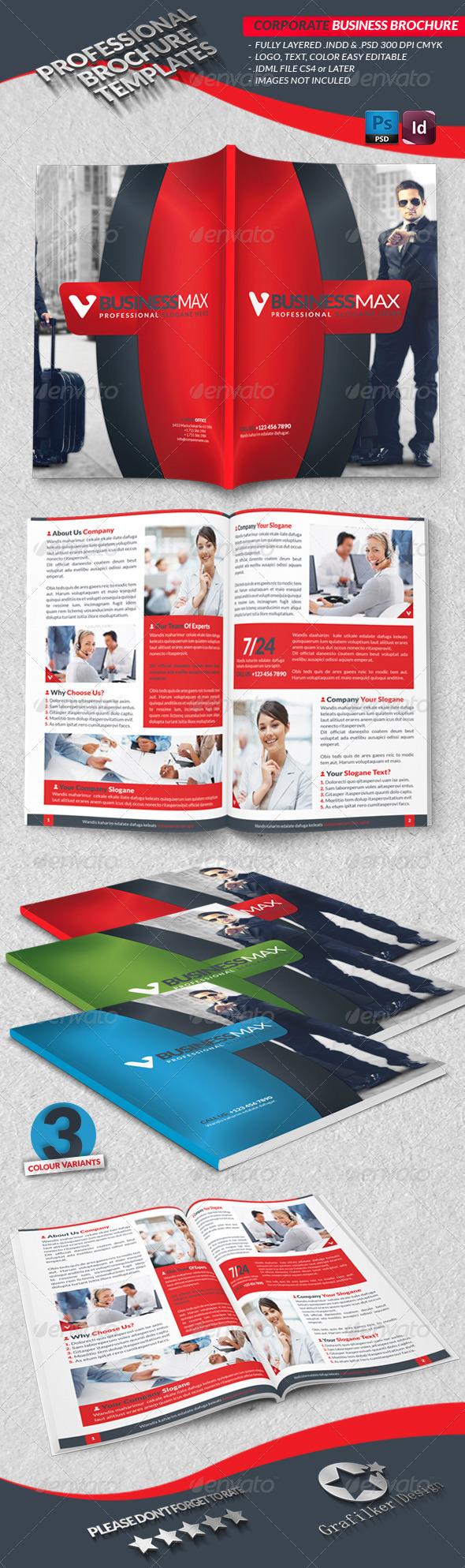 GraphicRiver Corporate Business Brochure 3860299