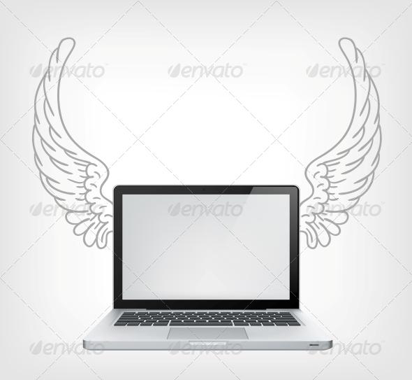GraphicRiver Laptop PC 3861646