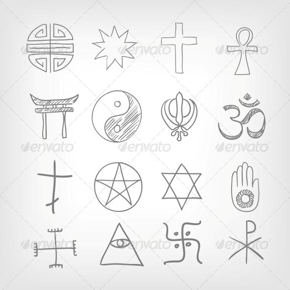 GraphicRiver Religious symbolism 3861697