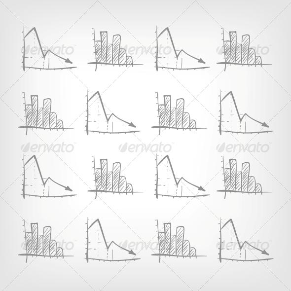 GraphicRiver Graph Down 3861724