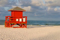 Lifeguard Hut Red - PhotoDune Item for Sale