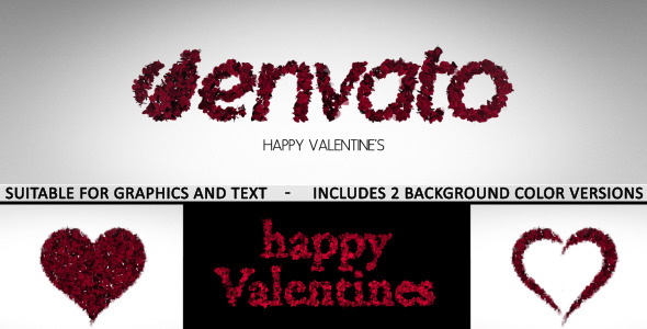 Romantic Logo and Text Reveal