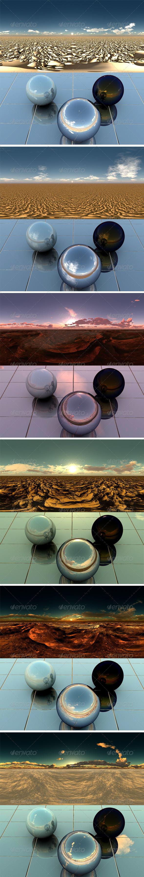 3DOcean Pack Desert 2 3863854