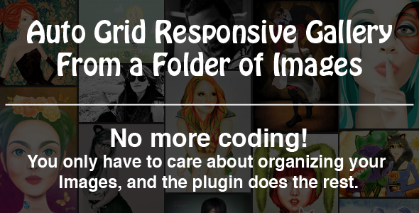 CodeCanyon Auto Grid Responsive Gallery 3864088