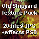 Old Shipyard Texture Pack - GraphicRiver Item for Sale