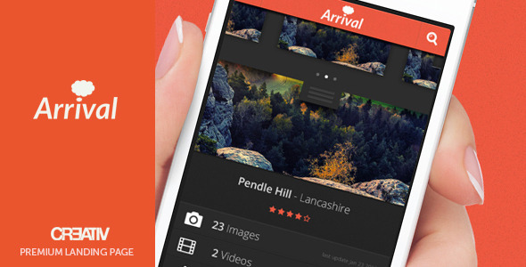ThemeForest Arrival 3864760