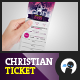 Multipurpose Christian Celebration Ticket 1 - GraphicRiver Item for Sale