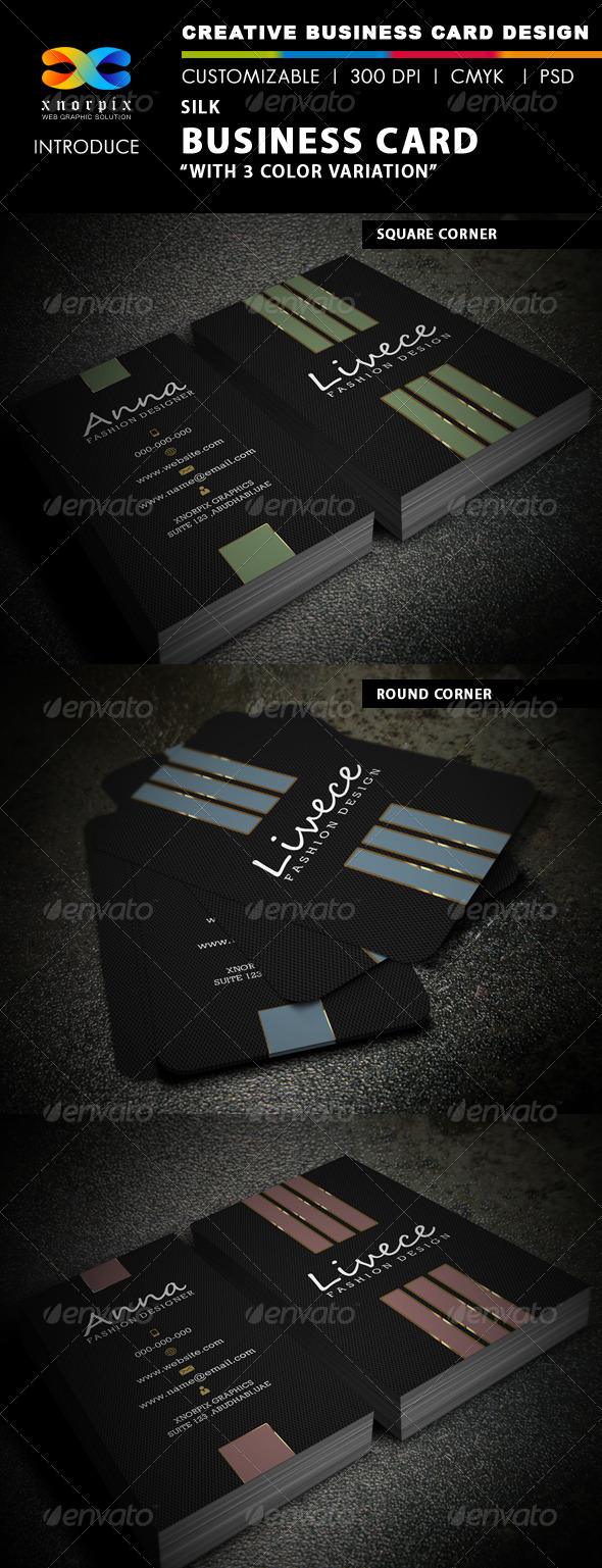 Silk Business Card - Corporate Business Cards