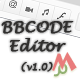 Mega BBCODE Editor v 1.0 - CodeCanyon Item for Sale