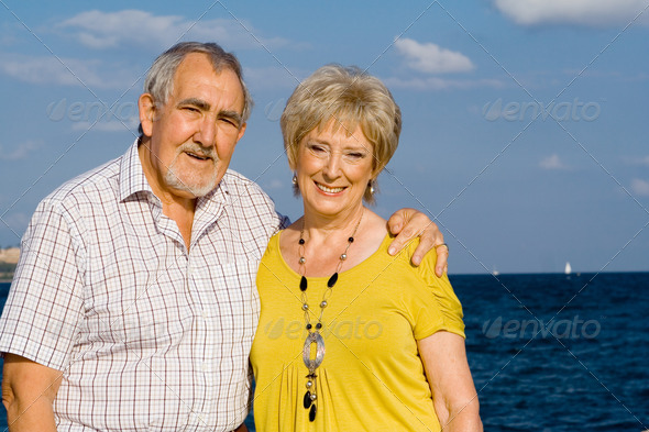 PhotoDune happy retirement elderly couple on vacation 3866287
