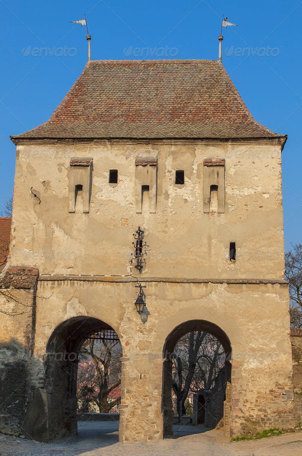 PhotoDune Taylor s Tower Sighisoara 3866273