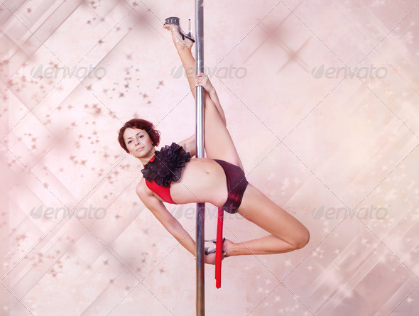 Poledance - Stock Photo - Images