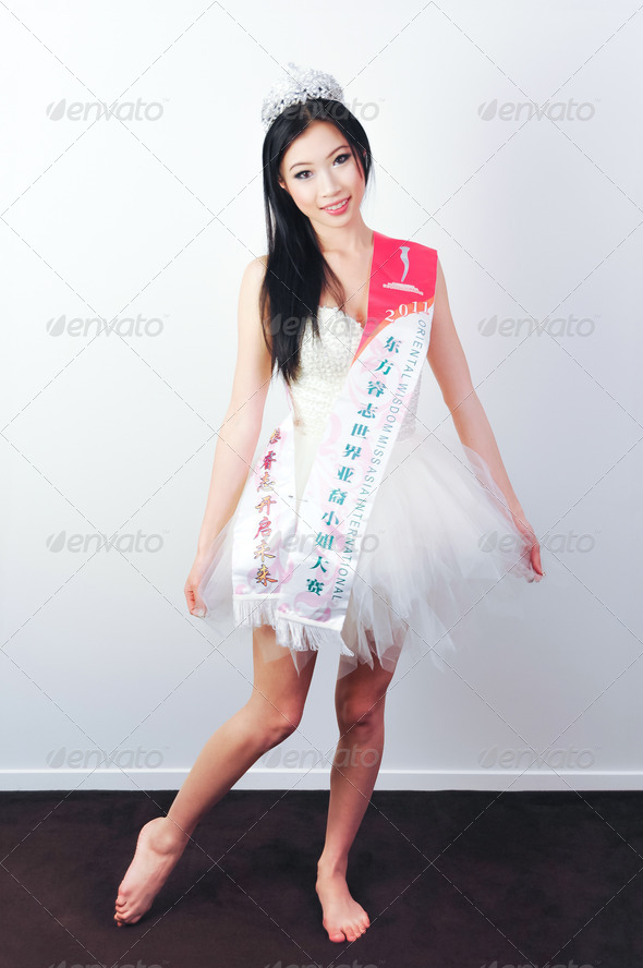 Miss Asia - Stock Photo - Images
