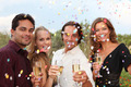 celebration party with champagne and confetti - PhotoDune Item for Sale