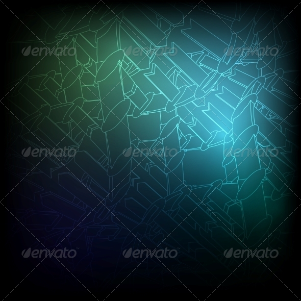 GraphicRiver Blue Texture Vector Background EPS10 3867280