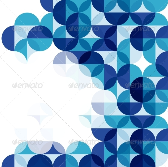 GraphicRiver Blue Modern Geometrical Abstract Background 3867284